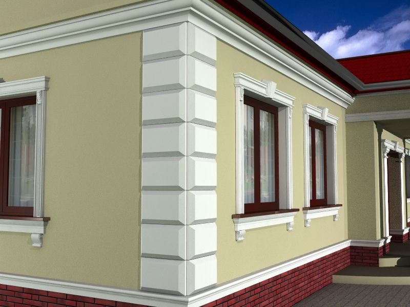 Декор фасадный для дома - босажи