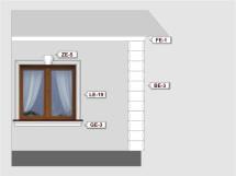 Фасадный декор - возможное сочетание