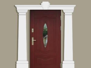 Колонны для фасада дома