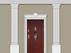 Пилястры - декор фасадный