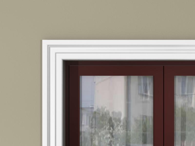 Молдинги для окна - декор фасадный