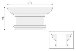 Голова колонны/полуколонны GK 1/200-1