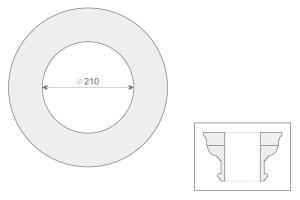 Голова колонны/полуколонны GK 1/200-2