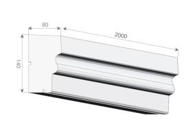 Карнизы / подоконники GE-6A