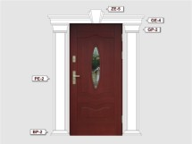 Фасадный декор - возможное сочетание PE 2
