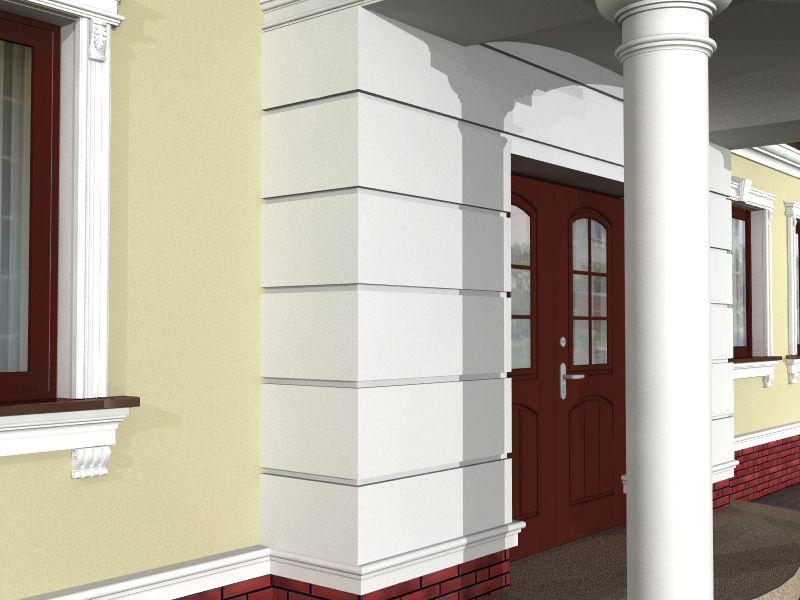Преимущество фасадных элементов из пенополистирола