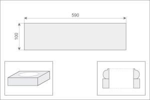 Постамент (пьедестал) колонны/полуколонны