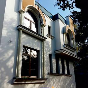 Фасадный декор - дом г. Винница