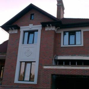 Фасадный декор - дом 10 г. Запорожье