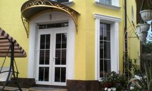 Фасадный декор - дом г. Николаев