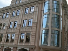 Фасадный декор - гостиница г. Одесса
