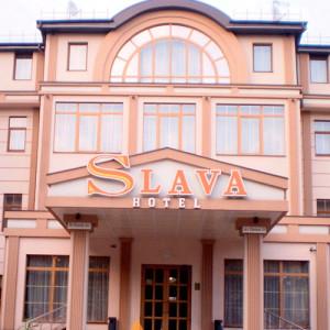 Фасадный декор - гостиница Слава