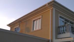 Фасадный декор - дом 11 г. Запорожье