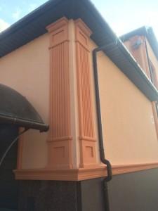 Фасадный декор - дом 7 г. Запорожье