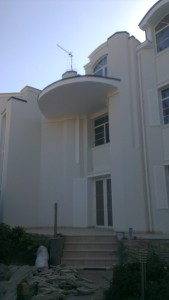 Фасадный декор - дом 8 г. Запорожье