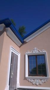 Фасадный декор - дом 9 г. Запорожье