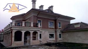 Фасадный декор - дом 3 г. Одесса