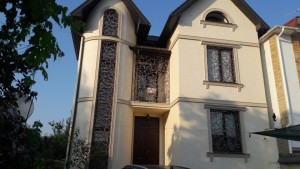 Фасадный декор - дом г. Одесса