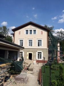 Фасадный декор - дом 3 г. Запорожье