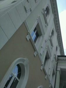 Фасадный декор - ТРЦ г. Запорожье