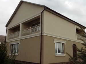 Фасадный декор - дом 6 г. Запорожье